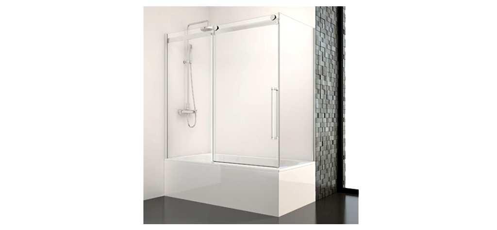 Mamparas de baño de aluminio y cristal en España