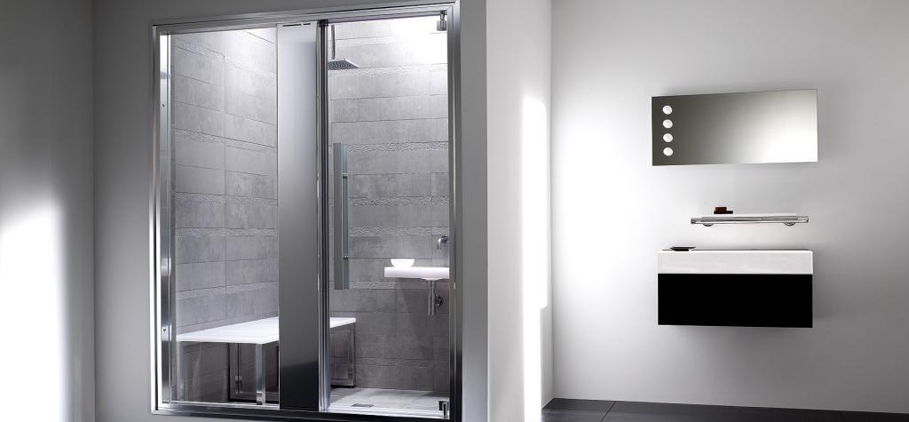 Mamparas de ba o y ducha mampara de ba o en espa a for Griferia para duchas de bano