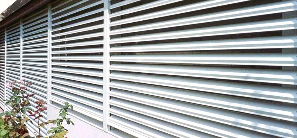 Persianas orientables de aluminio en España