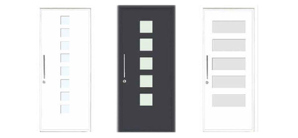 Puertas de entrada de aluminio en España